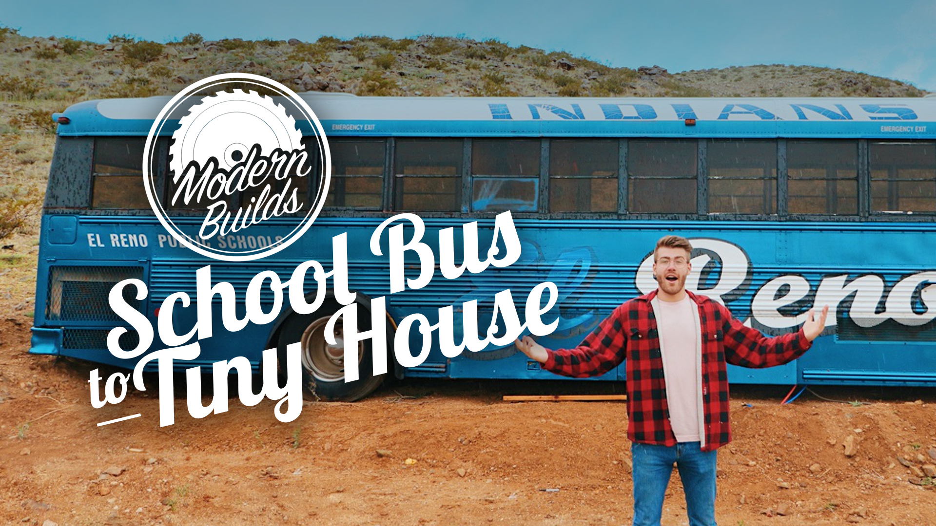 Building off the grid takes on a whole new meaning on School Bus To Tiny House